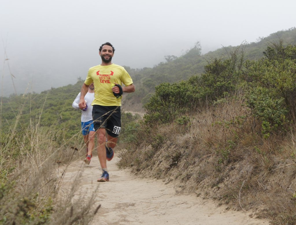 Mile 11ish - flying down the Miwok trail to Tennessee Valley